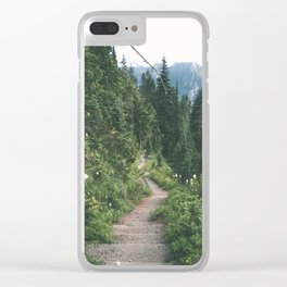 Happy Trails XVII Clear iPhone Case