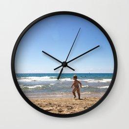 Defying waves Wall Clock