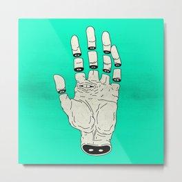 THE HAND OF DESTINY / LA MANO DEL DESTINO Metal Print