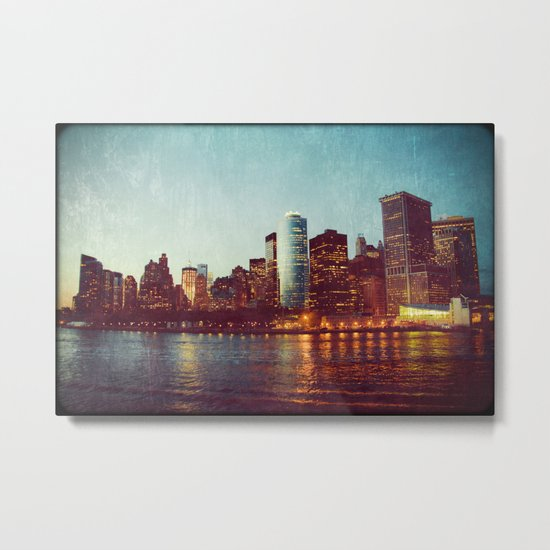 When the Lights Go Out Metal Print