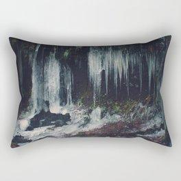 Ice Spikes Rectangular Pillow