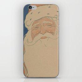 Vintage Santa Claus Illustration (1901) iPhone Skin