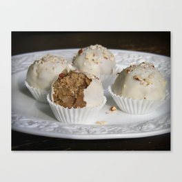 Fruit Cake Truffles: Take Two Canvas Print