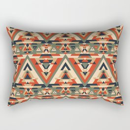 But I'm 1/64 Cherokee Seamless Pattern Rectangular Pillow