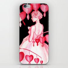 Bleeding Hearts Flowers iPhone & iPod Skin
