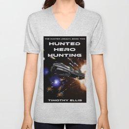 Hunted Hero Hunting Unisex V-Neck