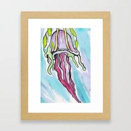 Jelly Fish #2 Framed Art Print