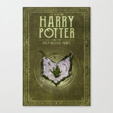 HP Book 6 (Book Cover) Canvas Print