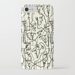 Curves And Lines iPhone Case