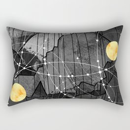Astronomy mountains Rectangular Pillow