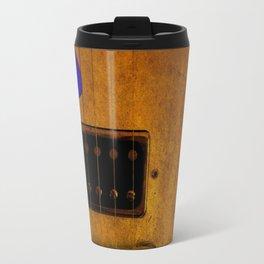 Blue Plectrum Travel Mug