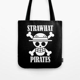 straw hat pirates Tote Bag