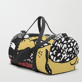 Eat and be eaten Duffle Bag