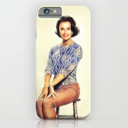 Dina Merrill, Vintage Actress iPhone Case