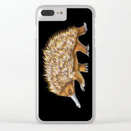 Echidna Clear iPhone Case