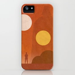 A New Hope Movie Poster iPhone Case