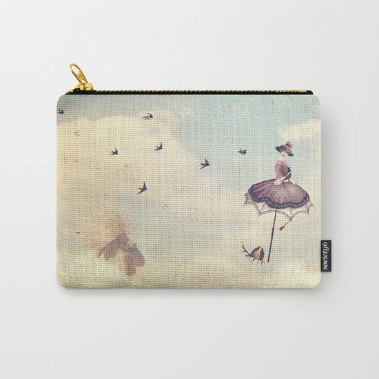 Spring Lady Carry-All Pouch
