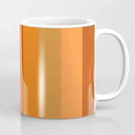 - Los naranjas de Rothko Coffee Mug
