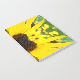 Trippy Sunflower Notebook