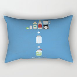 JAR-GARITA! Rectangular Pillow