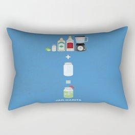 JAR-GARITA! Rectangular Pillow