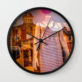 Diffraction 6 Wall Clock