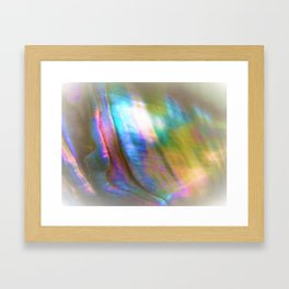 Peaceful Abalone Framed Art Print