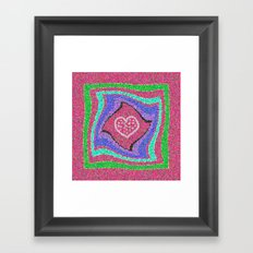 Merry Merry! Happy holidays, everyone! Framed Art Print