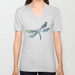 Dragonfly's Unisex V-Neck