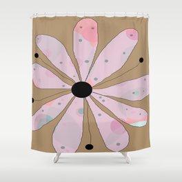 FLOWERY LUCY  / ORIGINAL DANISH DESIGN bykazandholly Shower Curtain