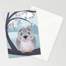 Whimsical Bird Stationery Cards