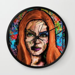 The Queen of all Tomorrow's Wall Clock