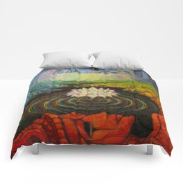 Earth-and-Sky Comforters