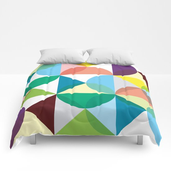 Geometry for Modern Houses (2010) Comforters