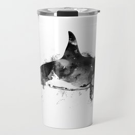 Killer Whale Travel Mug