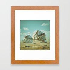 PLATONIC (everyday 12.19.15) Framed Art Print