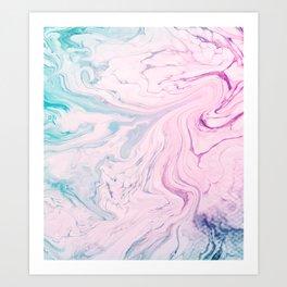 Marble No. 18 Art Print