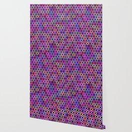 Pink Purple Sprockets Wallpaper
