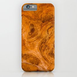 Natural Stone Art-The Cistern, Gold Butte, NV iPhone Case