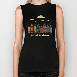 Amsterdam Biker Tank