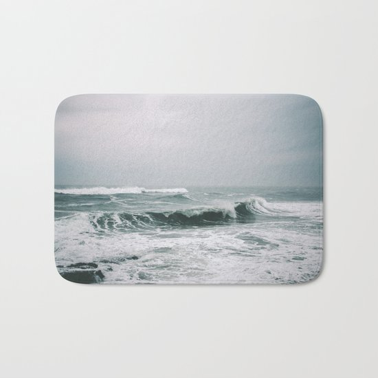 Waves III Bath Mat