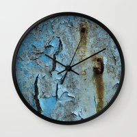 hook Wall Clocks featuring The Hook by aeolia