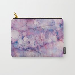 Texture Marble effect Carry-All Pouch