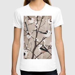 Long Tailed Birds T-shirt