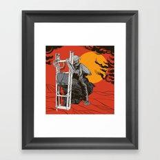 Ladder To The Sun Framed Art Print