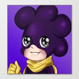 Purple Minoru Mineta - My Hero Academia Canvas Print