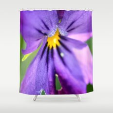 pansy, Shower Curtain