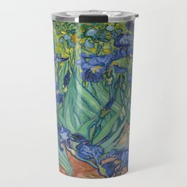 Vincent van Gogh's Irises Travel Mug