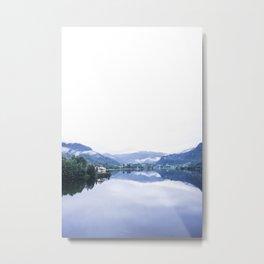 Norwegian Fjords Metal Print
