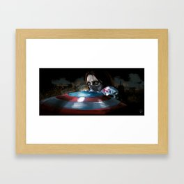 I don't know you Framed Art Print